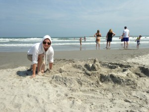 Sandcastle Building in Wildwood Crest, NJ