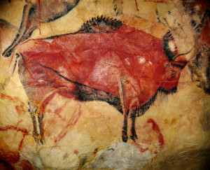 Bison from Altamira Cave. Courtesy of archaeological.org